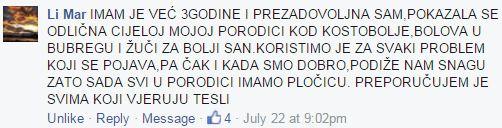 Teslina Ploca i Teslin disk - Iskustvo Li