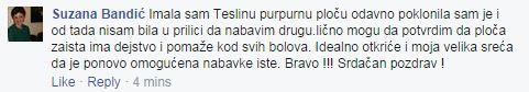 Teslina Ploca i Teslin disk - Iskustvo Suzana