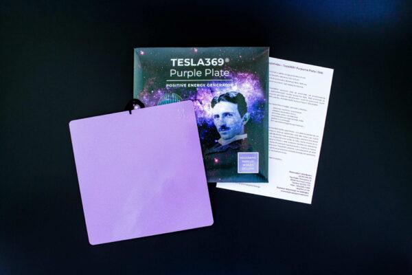 Velika Tesla369 Purpurna Ploca 1